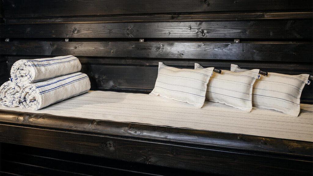 Jokipiin Pellava Sataraita sauna